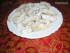 Bezlepkové vanilkové rožky