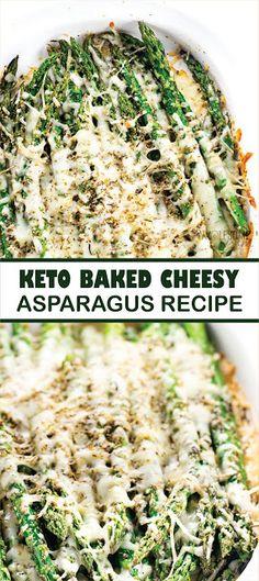 KETO BAKED CHEESY ASPARAGUS RECIPE - delishmeal.biz