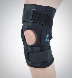 Orthèse de genou souple avec articulations métalliques Baskets