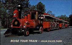 Boise Tour Train, Julia Davis Park Idaho