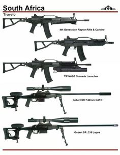 SOUTH AFRICA Lethal Weapon, Assault Weapon, Assault Rifle, Military Weapons, Weapons Guns, Guns And Ammo, Rifles, Guns Dont Kill People, Cool Guns
