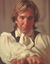 Alan Rickman- My love and my life. This man is the background for every piece of technology I have.