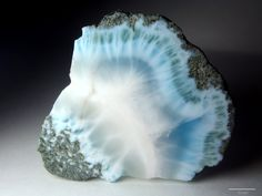 Polished Larimar, Dominican Republic.