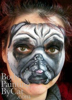 Image result for dog face paint