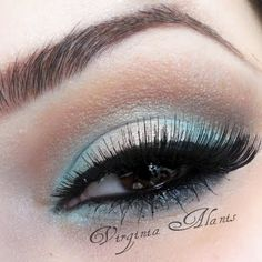 Mint and Gold by Virginia A. Click the pic to see the products she used. #beauty #makeup #formal