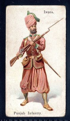 WILLS SOLDIERS OF THE WORLD (NO LD) PUNJAB INFANTRY-INDIA in Collectables, Cigarette/ Tea/ Gum Cards, Cigarette Cards | eBay