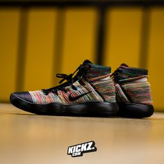2c90bd7de0e Taste the rainbow in the new Nike Hyperdunk Flyknit 2017. Available on  KICKZ.com and in selected stores! Roberto Enrique · Adidas shoes