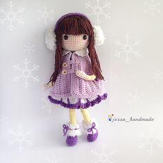Crochet Doll Pattern - Icelyn