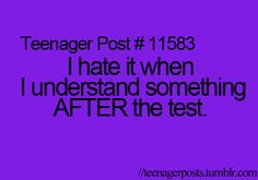 This is literally every math test I take.