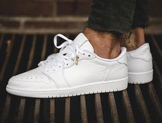 Air Jordan 1 Retro Low NS 'Triple White' (blanche)