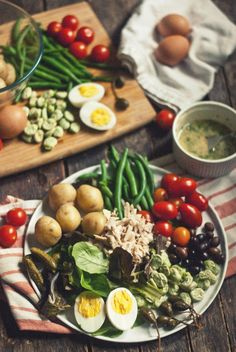 The Gouda Life » It Could Be Worse... [Nicoise Salad with Lemon-Parsley Vinaigrette]