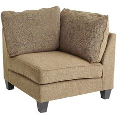 I think I might like this even more for my living room. It will fit perfectly where my bookcase is sitting in the corner of the room. Pier One: Crandall Corner Chair