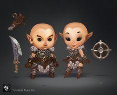 Warrior Set by *Gimaldinov