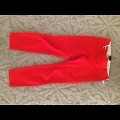 "Jcrew minnie Pants Cotton and hint of stretch, side zip,26"" inseam J. Crew Pants Ankle & Cropped"