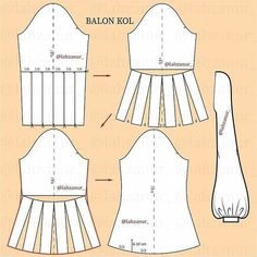 Dress With Sleeves Pattern Sewing Tutorials Dress Sewing Patterns, Clothing Patterns, Pattern Sewing, Sewing Clothes, Diy Clothes, Textile Manipulation, Mode Kimono, Sewing Sleeves, Pattern Draping