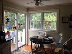 corner window and sliding door - Google Search
