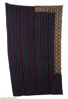 Tuareg Wodaabe Bororo Textile Cotton Embroidery Niger Africa | eBay
