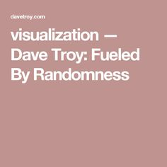 visualization — Dave Troy: Fueled By Randomness