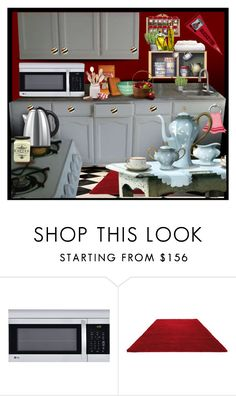 """""""Apartment Staging"""" by kathy-martenson-sanko ❤ liked on Polyvore featuring interior, interiors, interior design, home, home decor, interior decorating, LG and ESPRIT"""