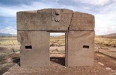 Portal do Sol - Tiahuanaco, Bolívia