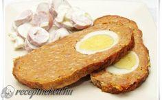 Stefánia vagdalt recept fotóval Eggs, Meat, Breakfast, Food, Morning Coffee, Eten, Egg, Meals, Morning Breakfast
