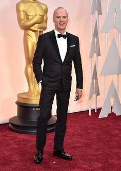 ¡#MichaelKeaton en la alfombra roja de los #Oscars2015!