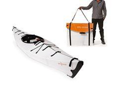 The Oru Kayak -  Now being funded through Kickstarter -   Neat
