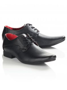 Twisted Soul Mens Black Pointed Lace Up Shoes Men's Shoes, Dress Shoes, Black Lace Up Shoes, Point Lace, Men Formal, Boy Fashion, Nice Dresses, Oxford Shoes, Menswear