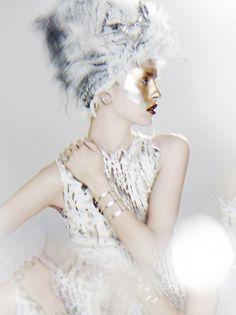 Kenneth Willardt / Fantasy Party, Vogue Nippon Jan 2013, Julia Frauche