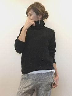 """sayaka│titivate│H & M Knitwear Looks- sayaka