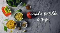 A delicious dinner ready in just minutes.  Tortilla Soup: http://spr.ly/60098qf6X