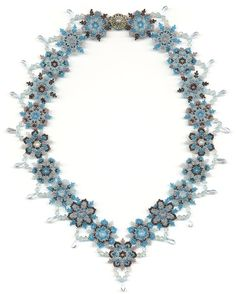 PDF File Tutorial for Snowflake and Icicle by BeadSphereJewelry
