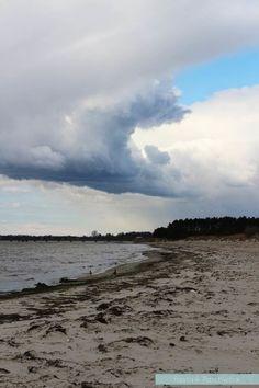 Lomma beach in Sweden