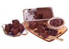 making chocolate brownies miniature food dollhouse