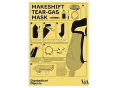Make shift gas mask