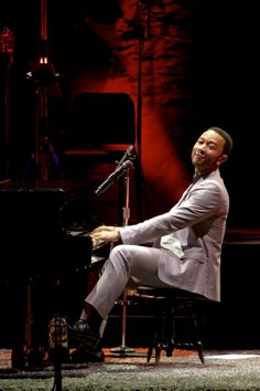 John Legend - August 2, 2014 @ the Mann.  Photo Credit: Derek Brad
