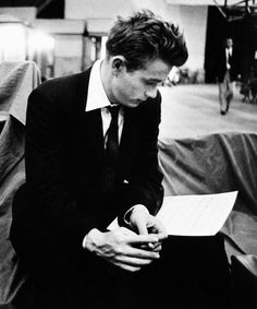 James Dean photographed by Bob Willoughby