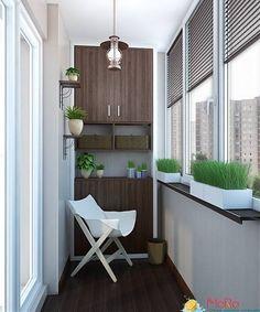 Проект 3к.кв ЖК Галант : Балкон и терраса в классическом стиле от MoRo