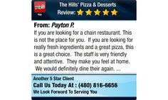 If you are looking for a chain restaurant. This is not the place for you. If you are...