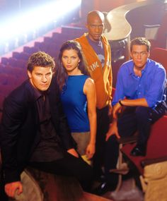 Angel TV Series was my favorite grades 9th through when it got cancelled! LOL