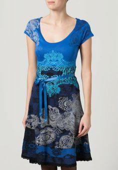 Desigual - PARIS - Vestito di maglina - blu