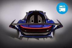 """La prima """"supercar"""" cinese realizzata da un'azienda specializzata stravolgerà il mercatoautomotiveintegrando la sua tecnologia ibrida con un motore a turbine ed un inedito design """"made in Italy"""" di ispirazione aerospazi..."""