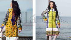 LALA Vintage Eid Designer Kurti Dresses 2015 http://clothingpk.blogspot.com/2015/06/lala-vintage-eid-designer-kurti-dresses-2015.html
