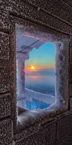 Frosty Sunrise ~ Lapland, Finland by Julius Rintamäki