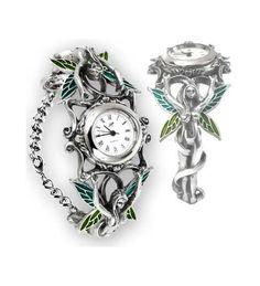 Artemisia Fairy Pewter Wrist Watch
