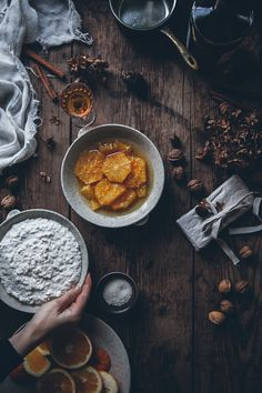 Ris à la malta – Rice pudding with whipped cream and marinated oranges