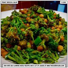 Slimming World Salads, Slimming World Recipes, Healthy Eating Recipes, Vegan Recipes, Cooking Recipes, Speed Foods, Weightwatchers Recipes, Broccoli Salad, Salad Bowls