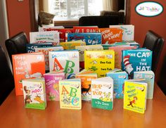 Dr. Seuss Family Day: choose a couple Dr. Seuss books and do one activity to go with each