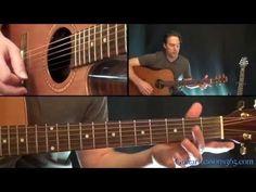 Tequila Sunrise Guitar Lesson - Eagles - YouTube
