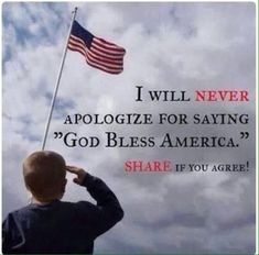 Never Ever Apologize! God Bless America, My Home Sweet Home! I Love America, God Bless America, We Are The World, In This World, Thing 1, Look Here, In God We Trust, Support Our Troops, Trump